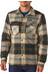 Patagonia M's Fjord Insulated Flannel Jacket Sugar Pine: El Cap Khaki